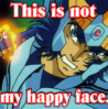 Phoenix Ikki - Not a happy face