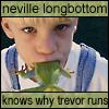 HP: Neville eats Trevor