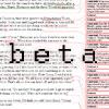 Nobody's laughing now: R - beta