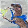 ~Silvernyte Rhuka~: Kage-self: plays with lightning