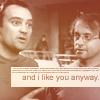 rogue equestrian: SGA:: R/R I like you anyway