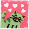Arthur and Kevin's Nellorat: cat_green_hearts