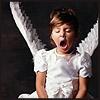 моя суть - зевающий ангел!)