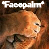 Facepalm Lion