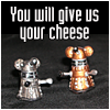 Teeny Gozer: Dalek Mice say: