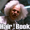 Book and his oh so lovely hair