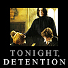 Snarry - Detention, Tonight