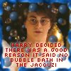 Hp - Harry bubbles