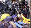 obey the riot police