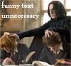Loyaulte Me Lie: Harry/Ron/Snape