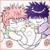 Kae-kun and Hana-chan