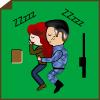 Chris: Wee Will/Little Laura--Snuggle on Kobol