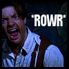 Amanda: ROWR Brendan Fraser