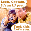 Look captain. It's an LJ post!