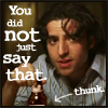 Dani: Charlie you did not just say that