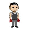 Chris: Wee William--Boxing