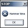 gwalla: stop! hammertime