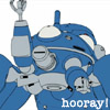 Mad Scientess Jane Expat: tachikoma: celebratory