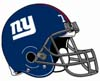 Ellie: NY Giants helmet