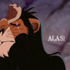 Lion King- Alas Scar