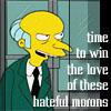 Simpsons Hateful Morons