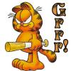 outsideth3box: Garfield grrr