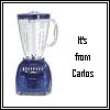 missy&me - carlos gave me a blender!