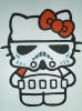 Katie: storm trooper hello kitty