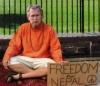 bush hunger strike for nepal
