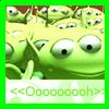 Suzie: Disney Little Green Men.