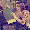 literate and stylish: glomp!