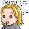 Sforzie - Blame this idiot
