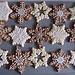 Rydw i'n hoffi coffi: snowflakes