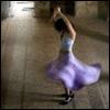 dansing violet