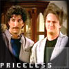 so what if right now everythings wrong: friends - 80s priceless ross and chandle