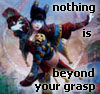 beyond your grasp