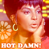 Trek Uhura Hot Damn