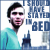 stayed in bed (jim)