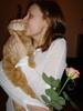 котик Федя и роза