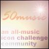 50 music icon challenge