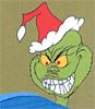 Grinch- evil smile