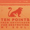ten points from gryffindor