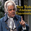 1776 - NY abstains...courteously