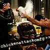 james tiberius kirk: Friends//Chicken Attack