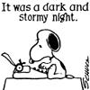Snoopy dark stormy_kcwriter