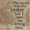 Adoable Frunk: wrong fork oyster