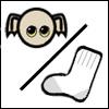 dobby sock