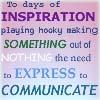 expression/communication