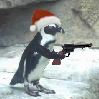 Penguin Holiday Icon