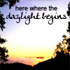 daylight begins